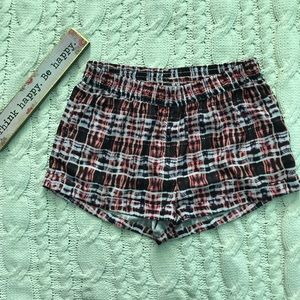 Finders Keepers Tribal Print Soft Shorts